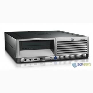 Системный блок HP SFF dc7800 компактный, бесшумный