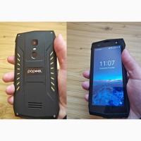 Противоударный телефон Poptel P8 2 сим, 5 дюй, 16 Гб, 8 Мп, 3750 мА/ч. Защита IP68