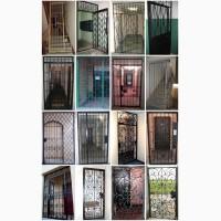 Изготовление и установка решетчатых дверей в Киеве, - от 3550 грн