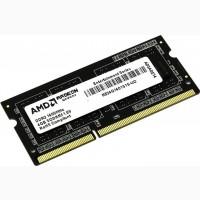 Оперативная память AMD SODIMM DDR-3 4GB 1600 Mhz