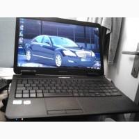Красивый, быстрый ноутбук 2 ядра eMachines E627/