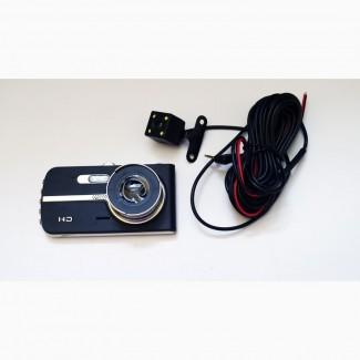 Видеорегистратор DVR T653 Full HD 4 экран. с выносной камерой заднего вида