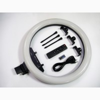 Кольцевая LED лампа RGB MJ18 45см 220V 3 крепл.тел + пульт + чехол