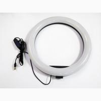 Кольцевая LED лампа S31 33см 1 крепл.тел USB