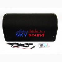 Активный сабвуфер бочка Sky Sound SS-6UB Bluetooth 200W со встроенным усилителем