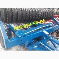 Зубчатый каток КЗК-6П для пред и послепосевной обработки почвы (Литейный завод)