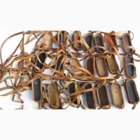 Кожаный ремешок с блендой на Советский армейский бинокль, пыльник-дождевик на бинокли СССР