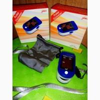 Пульсоксиметр JZK для измерения кислорода в крови детский, взрослый