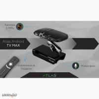 Продам новую приставку ATLAS Android TV Max + официальная гарантия 12 мес