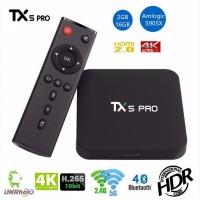TX5 PRO - недорогой и мощный Смарт ТВ бокс на Android 6.0.1, Amlogic S905X, 2/16GB