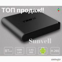 T95X 2g/8g Sunvell android 6.0 tv box