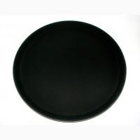 Поднос профессиональный круглий, 35.5см, разнос для официантов, Restoposud