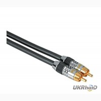 Кабель HAMA Home Theatre Metall RCA - RCA 1.5 м
