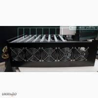 Майнинг - ферма: 8 X NVIDIA GEFORCE P106 (1060 6GB)