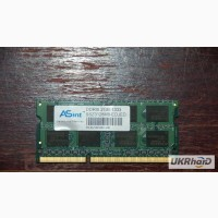 Память DDRIII 2GB к ноутбуку Lenovo IdeaPad G585