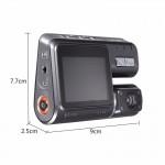 Видеорегистратор автомобильный 1.77 дюйма зкран Full HD 1080 P