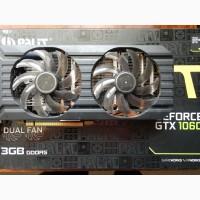 ВидеоКарту PALIT GeForce GTX 1060 3GB GDDR5 192bit бу