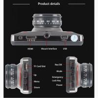 OnCam T611 Автомобильный видеорегистратор Экран 3.0 дюйма Видео Камера FULL HD 1080P