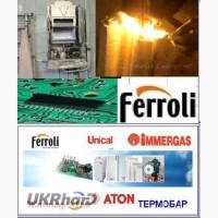 Ремонт электронной платы для котла Ferroli, Beretta, Herman
