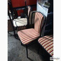 Продам полосатые стулья бу