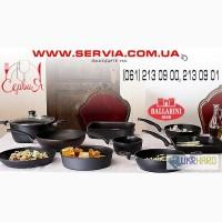Профессиональная наплитная кухонная посуда – servia. com. ua.