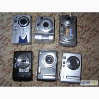 Цифровые фотоаппараты на запчасти