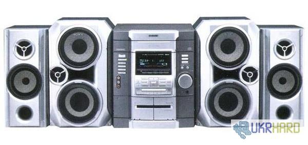 Продам музыкальный центр Sony MHC-RG66 с пультом и подставками к нему для колонок