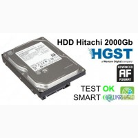 Жесткий диск, HDD Hitachi 2000Gb, 64Mb, 7200, SATA III