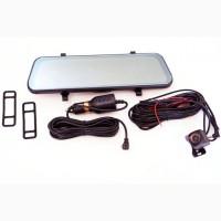 Автомобильный видеорегистратор зеркало DVR 1013 10#039; #039; с двумя камерами 1080P full screen