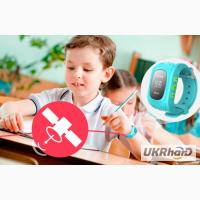 Детские «Умные» Smart часы Q50 с функцией телефона и GPS трекером