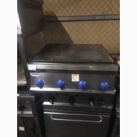 Продам бу плиту настольную Tecnoinox PP70E7 со сплошной жарочной поверхностью