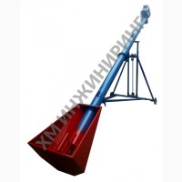 Шнековый транспортер 140/200 мм, длина 5/6/7, 5 м, 22-40 т/ч, 220-380 В