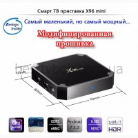 Cмарт ТВ бокс X96 MINI на Android 7.1.2, Amlogic S905W, 2/16Gb