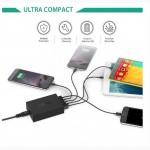 Aukey PA-T1 - умная семейная смарт зарядная станция (5*USB 54W/10Amp)