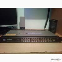 Продам б/у комутатор Linksys PSP224G4