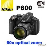 Прокат фотоаппарата, аренда фотокамер, Nikon Coolpix P600, суперзум, Киев