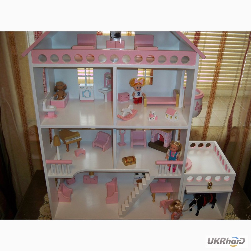Как сделать домик для маленькой куколки 411