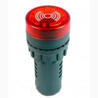 Сигнализатор звуковой с подсветкой AD16-22SM 12V