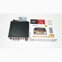 Усилитель UKC Xplod SN-606BT - Bluetooth, USB, SD, FM, MP3! 300W+300W Караоке 2х канальный
