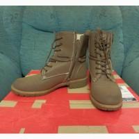 Женские кожаные ботинки Landrover зимние зимняя. Германия. Оригинал
