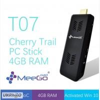 MeeGoPad T07 - карманный мини ПК с 4Gb RAM, Intel Atom x5-Z8300, 64 bit Windows 10