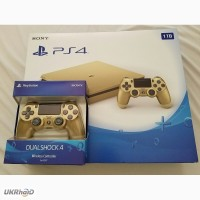 Sony PlayStation 4 Slim Limited Edition 1TB Gold Console / xbox 360