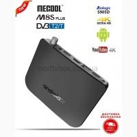 MECOOL M8S PLUS DVB T/T2 - гибридная ТВ приставка, Amlogic S905D, 1/8Gb, Android 7.1.2