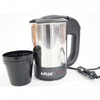 Автомобильный электрический чайник А-Плюс Ek-1700 0, 5л с чашками