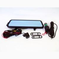 DVR Anytek E92 10#039;#039; зеркало с двумя камерами 1080P full screen