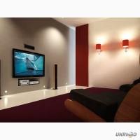 Повесить укрепить телевизор на стене вызвать электрика Донецк