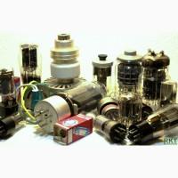 Куплю радиолампы ИН, 6Н, 6Ж, 6П, ГМ, ГУ, вакуумные конденсаторы КП счетчики гейгера СБМ20 и