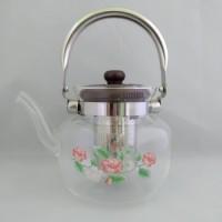 Стеклянный чайник-заварник А-Плюс TK-1045 1, 2 литра