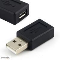 Переходник USB (папа) - microUSB (мама)