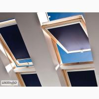 Рулонные шторы (тканевые роллеты) на мансардные окна